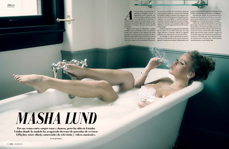 Masha Lund - Revista Open Magazine